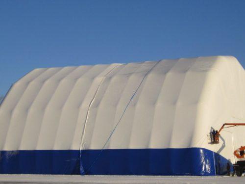 pnevmokarkasnoe sooruzhenie s zashhitnym tent chehlom pod aviaczionnyj angar e1603535703230